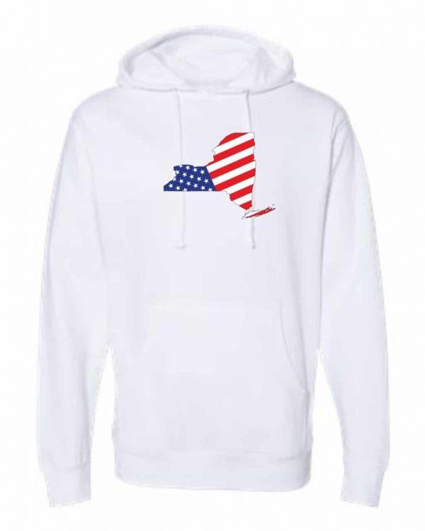 american flag hoodie white 4