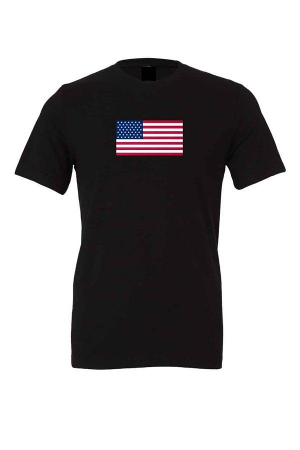 american flag t shirt black 8
