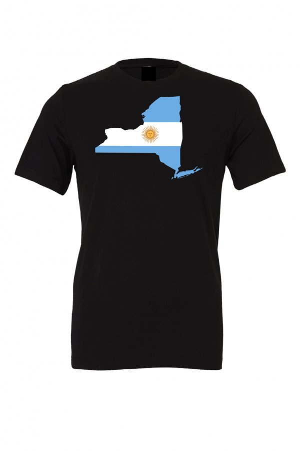 argentinian new york black t shirt 2