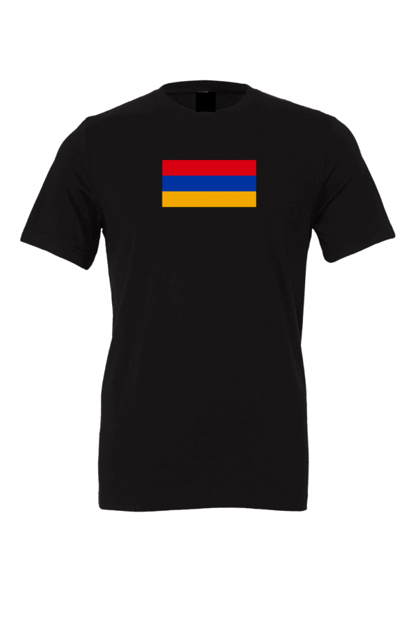 armenia flag black t shirt 1