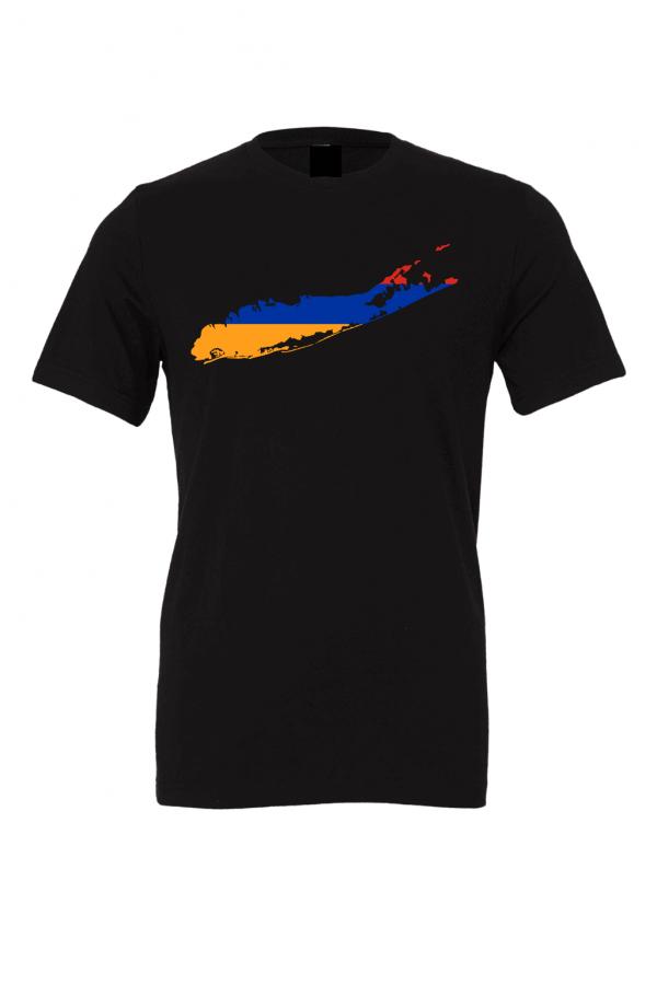 armenian flag long island black t shirt 2