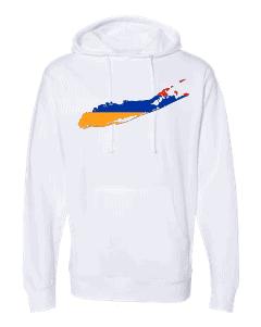 armenian flag long island white hoodie 2