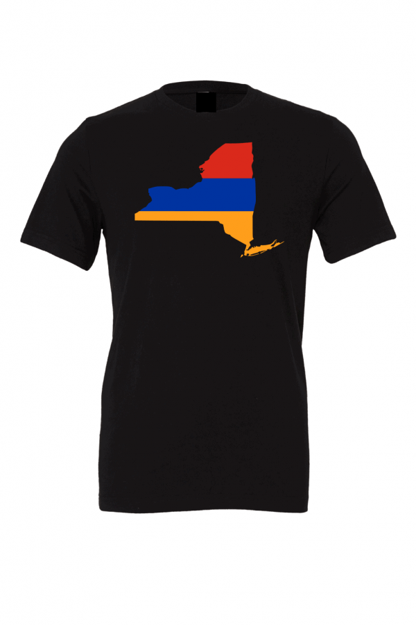 armenian flag new york black t shirt 2