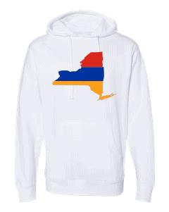 armenian flag new york white hoodie 2