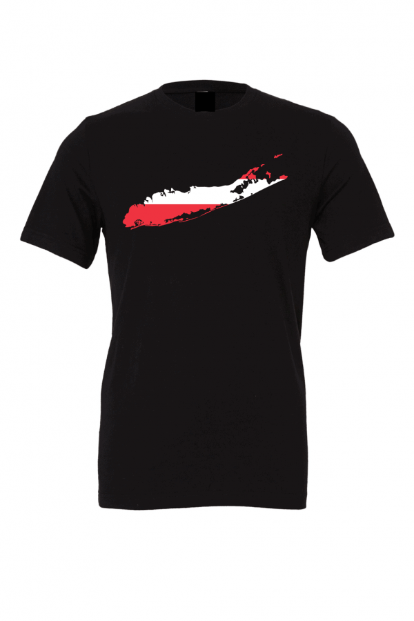 austrian flag black long island t shirt 2
