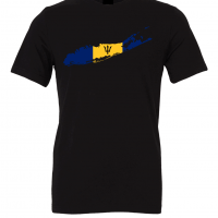 barbadian flag long island black t shirt 2