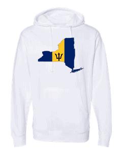 barbadian flag new york white hoodie 2