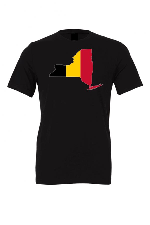 belgium flag new york black t shirt 2