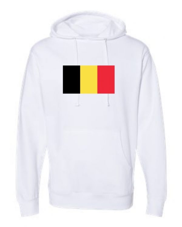 belgium flag white hoodie 1