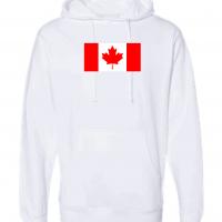 canada flag white hoodie 1