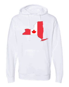 canadian flag white new york hoodie 2