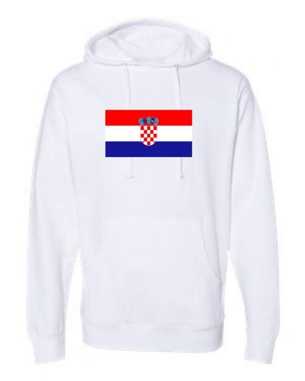 croatia flag white hoodie 1