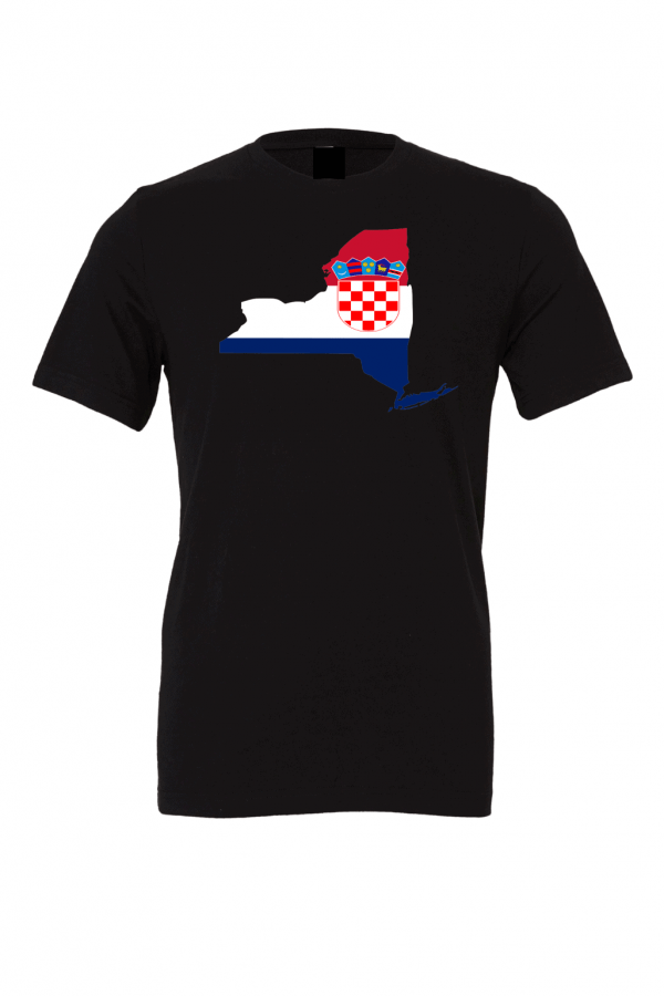 croatian flag new york black t shirt 2