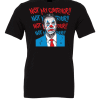 Cuomo Not My Governor Clown T-Shirt Black