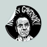 Cuomo Not My Governor Sticker - Black