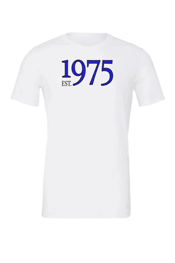 custom birth year white t shirt 2
