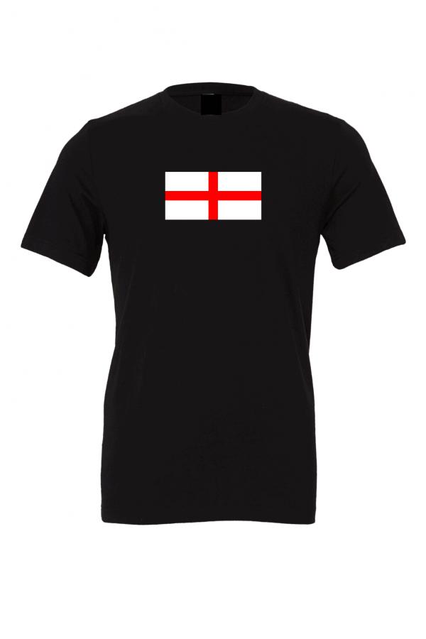 england flag black t shirt 8