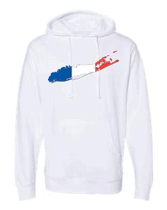french flag long island white hoodie 2