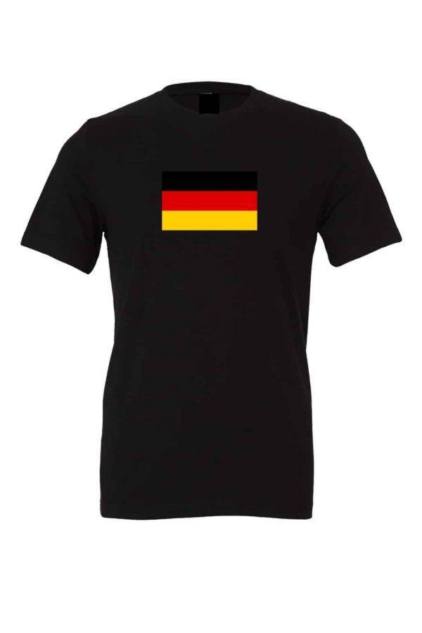 german flag black t shirt 1
