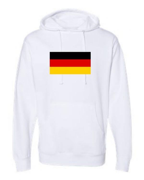 german flag white hoodie 1