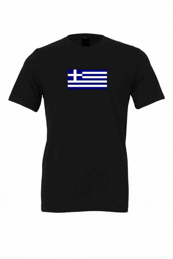 greek flag black t shirt 8