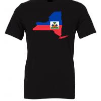 haitian flag new york black t shirt 2