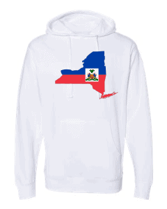 haitian flag new york white hoodie 2