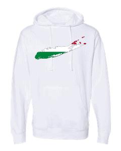 hungarian flag long island white hoodie 2