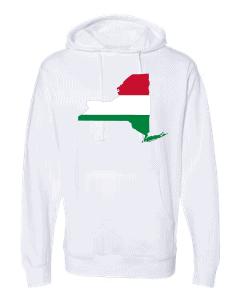 hungarian flag new york white hoodie 2