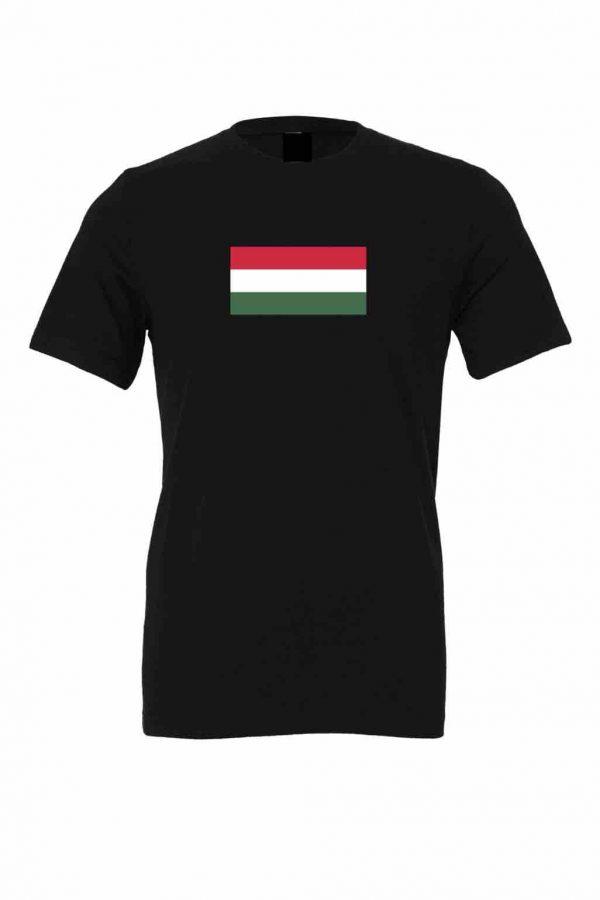 hungary flag black t shirt 8