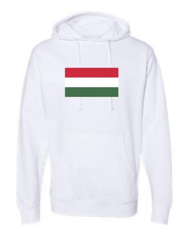 hungary flag white hoodie 2