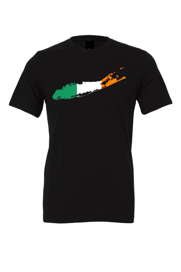 irish flag long island black t shirts 2