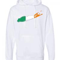 irish flag long island white hoodie 2