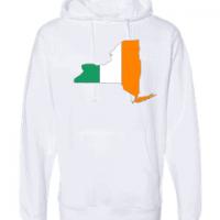 irish flag new york white hoodie 2