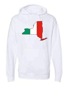 italian flag new york white hoodie 2