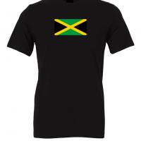 jamaica flag black t shirt 1