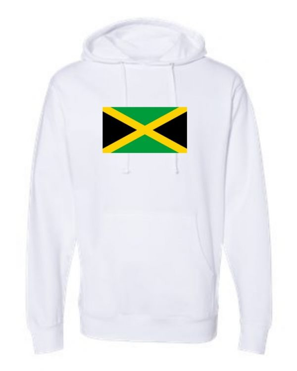 jamaica flag white hoodie 1
