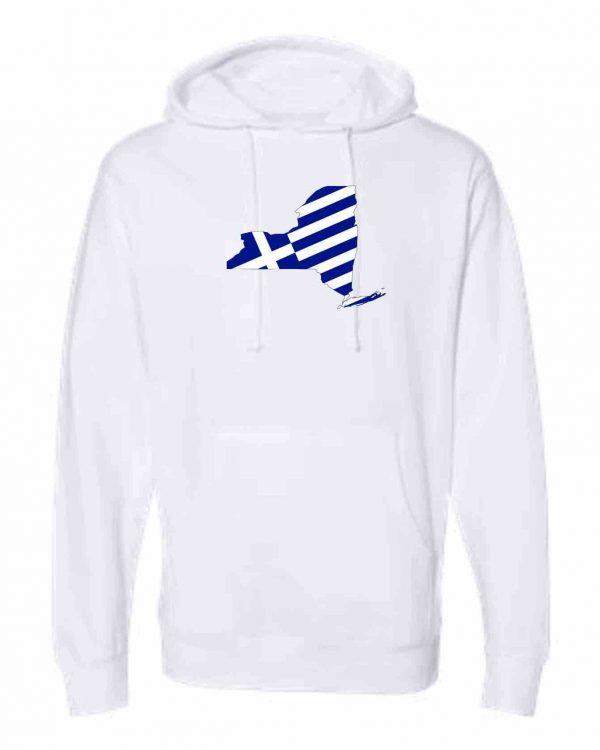 new york greek greece flag hoodie white 2