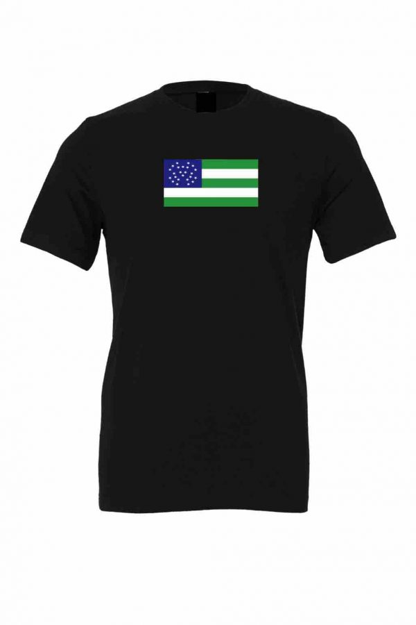 nypd flag black t shirt 1