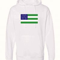 nypd flag white hoodie 1