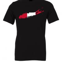 peruvian flag long island black t shirt 2
