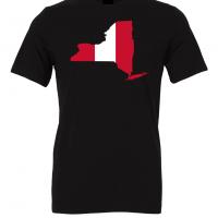 peruvian flag new york black t shirt 2
