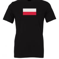 poland flag black t shirt 1
