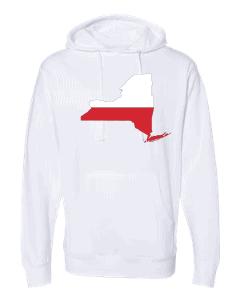 polish flag new york white hoodie 2