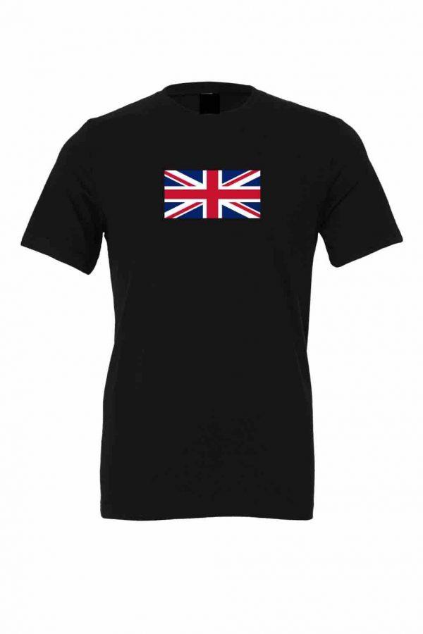 union jack flag black t shirt 8