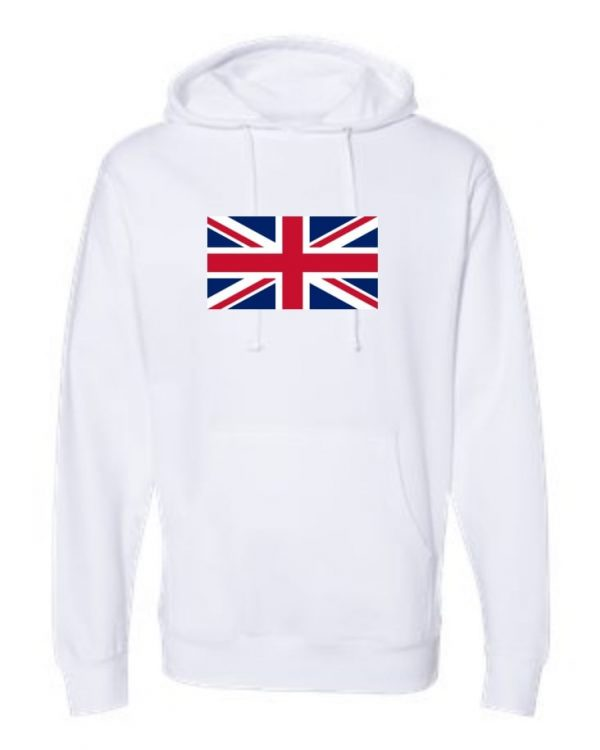 union jack flag white hoodie 2